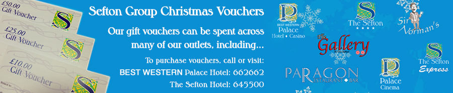 Sefton Group Christmas Vouchers
